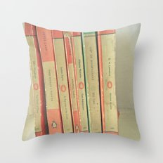 Read to Me Throw Pillow
