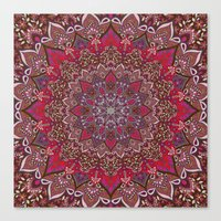 Farah Red Canvas Print