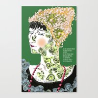 Anna Achmatova Canvas Print