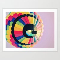 Up In The Sky! Art Print