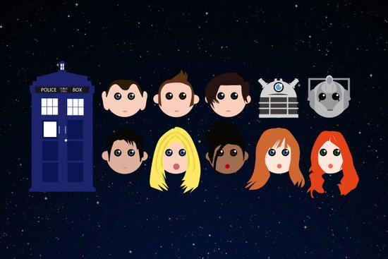 The Doctor dolls Art Print
