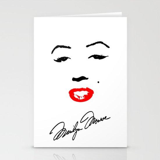 Marilyn Monroe! Stationery Card