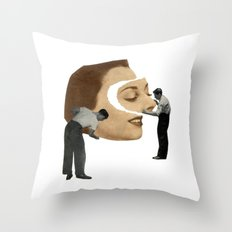 Organization Throw Pillow