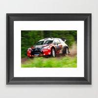 SS22 Petter Solberg Framed Art Print