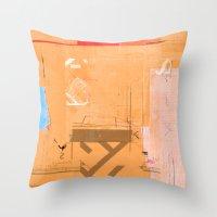 CROSS OUT #33 Throw Pillow