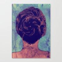 Hair nr. 9 Canvas Print