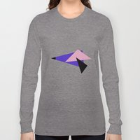 Misplaced Triangles Past… Long Sleeve T-shirt