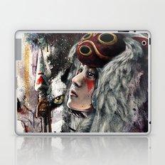 Mononoke San and The Spirit of the Wolf Laptop & iPad Skin