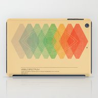 iPad Case featuring Visible Spectrum  by Budi Kwan