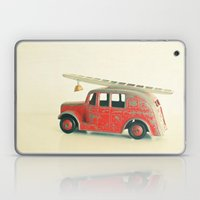Red Fire Engine Laptop & iPad Skin
