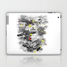 Dog Fight Laptop & iPad Skin