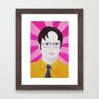 Dwight Framed Art Print