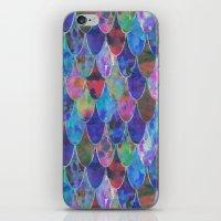 Toxic Mermaid iPhone & iPod Skin