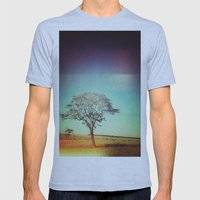 Light Tree Mens Fitted Tee Athletic Blue SMALL