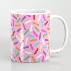 Pink Donut with Sprinkles Mug