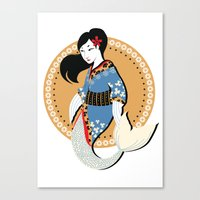 Lil'Geisha Canvas Print