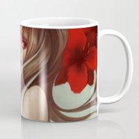 Crimson Petals Mug