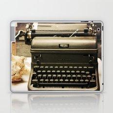 You never write... Laptop & iPad Skin