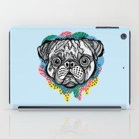 Pug Face iPad Case