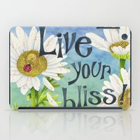 Live Your Bliss iPad Case