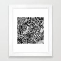 Nightfallen Framed Art Print