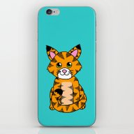 Little Ginger Tabby iPhone & iPod Skin