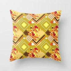 Mustard Throw Pillow