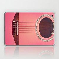 Pink Guitar Laptop & iPad Skin