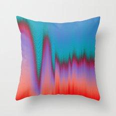 Glitch Stitch Throw Pillow