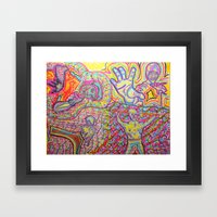 EveryBody's Kung Fu Figh… Framed Art Print