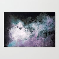 Soaked Chroma Canvas Print