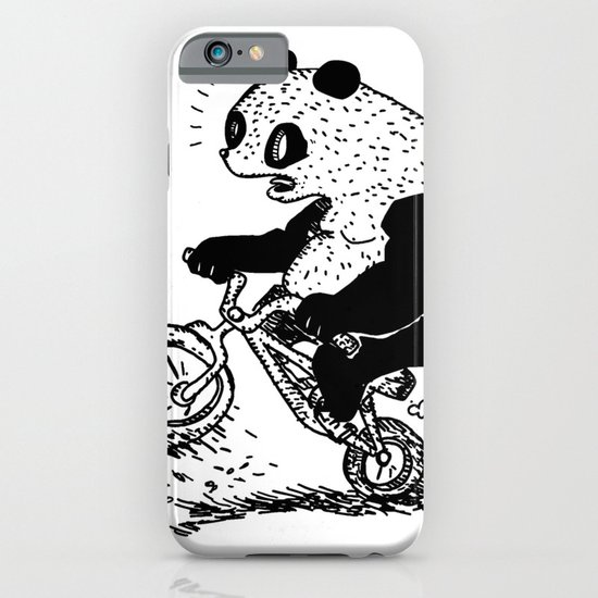 Dirt Jump Panda iPhone & iPod Case