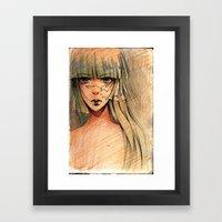 Time - Sketch Framed Art Print