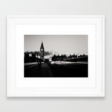 London noir ...  Framed Art Print