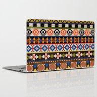 Colourful Tribal Aztec P… Laptop & iPad Skin