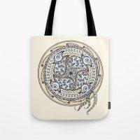 Paisley Balance Mandala  Tote Bag