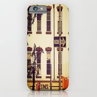 iPhone Cases featuring Postcard to Mom, From New York by Joëlle Tahindro
