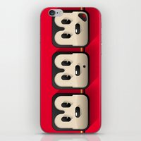 Faces Of Mickey Mouse iPhone & iPod Skin