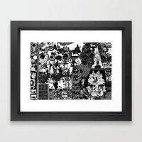 on Framed Art Print