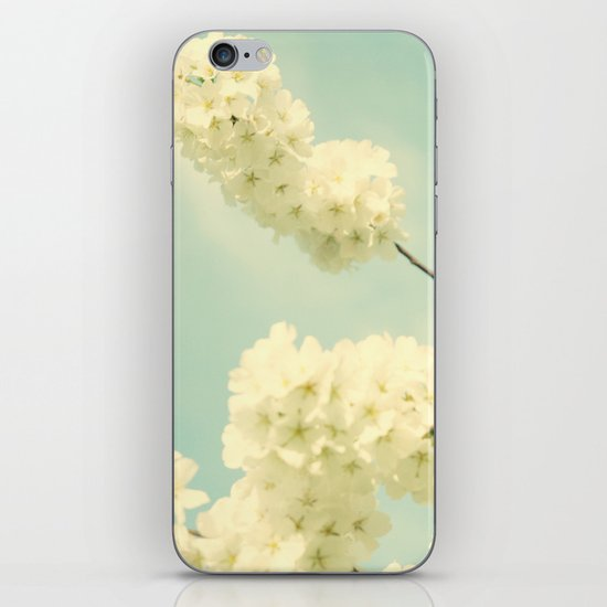 The Blossom and the Bee iPhone & iPod Skin