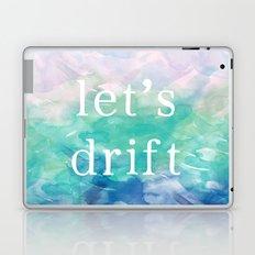 Let's Drift in a Watercolor Laptop & iPad Skin