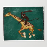 Run Through the Jungle Canvas Print