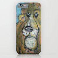 iPhone & iPod Case featuring Lion by GalaArt