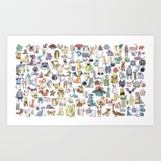 Gotta catch 'em all ! Art Print