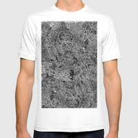 Oodles of Doodles Mens Fitted Tee White SMALL