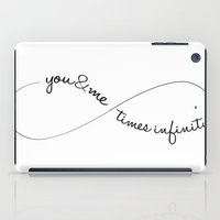 Infinite love iPad Case