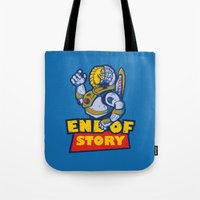 END OF STORY Tote Bag