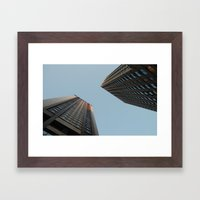 Lower Manhattan  Framed Art Print