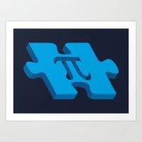 Pi Puzzle Art Print