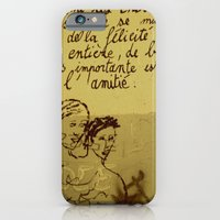 iPhone & iPod Case featuring French Graffiti in Paris by shari hochberg